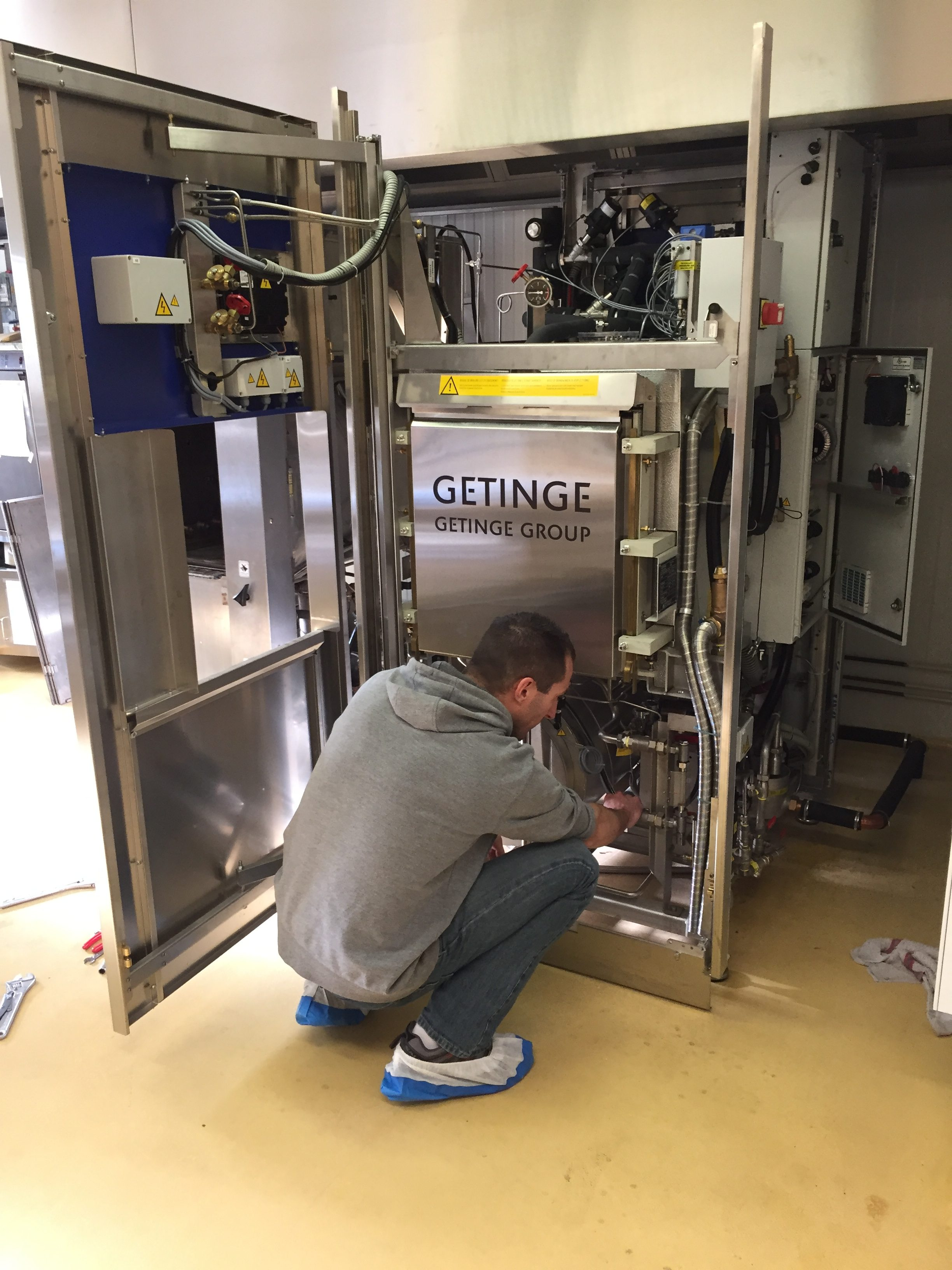 Maintenance autoclave Getinge