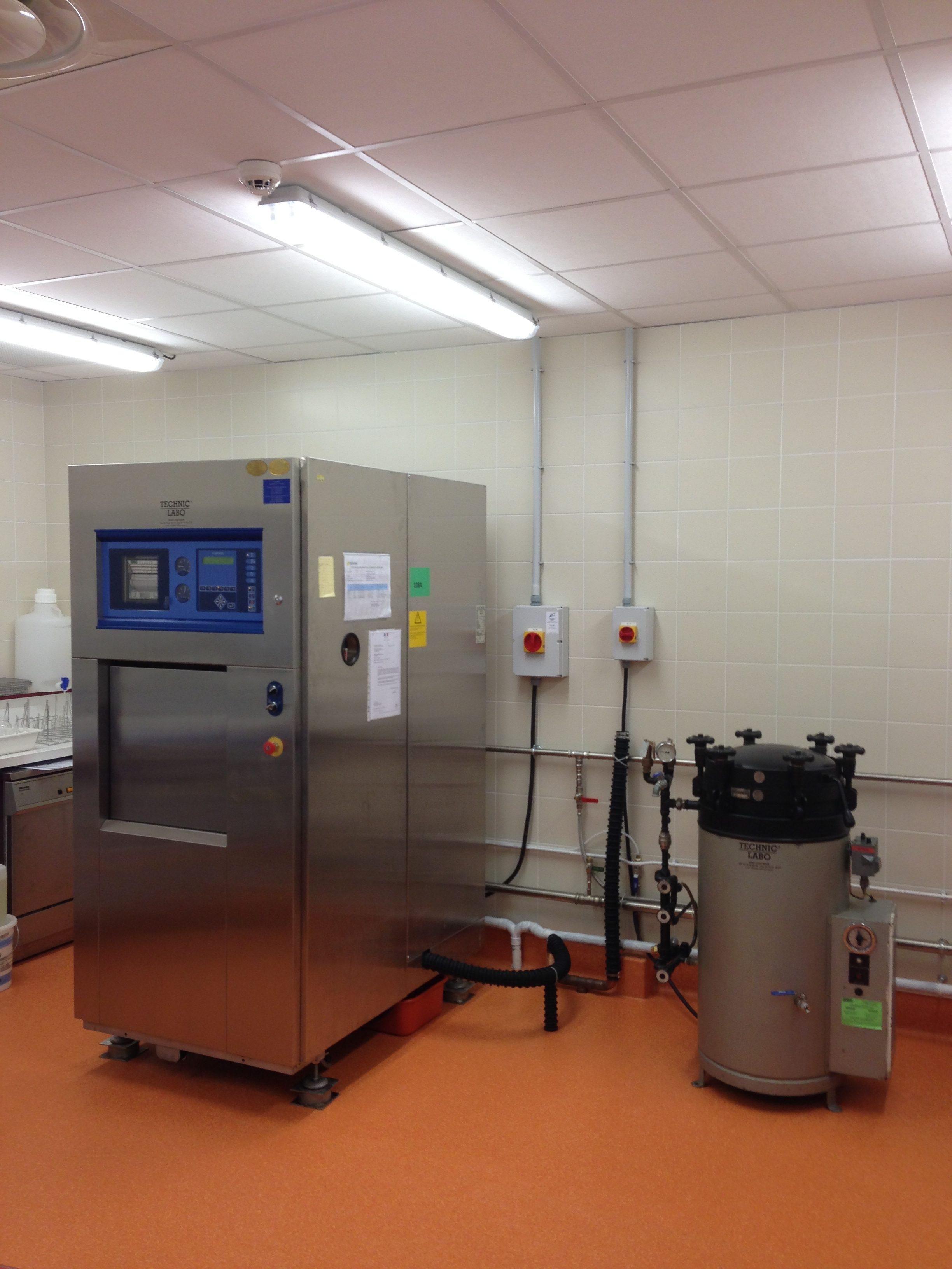 Service Stérilisation - Laboratoire