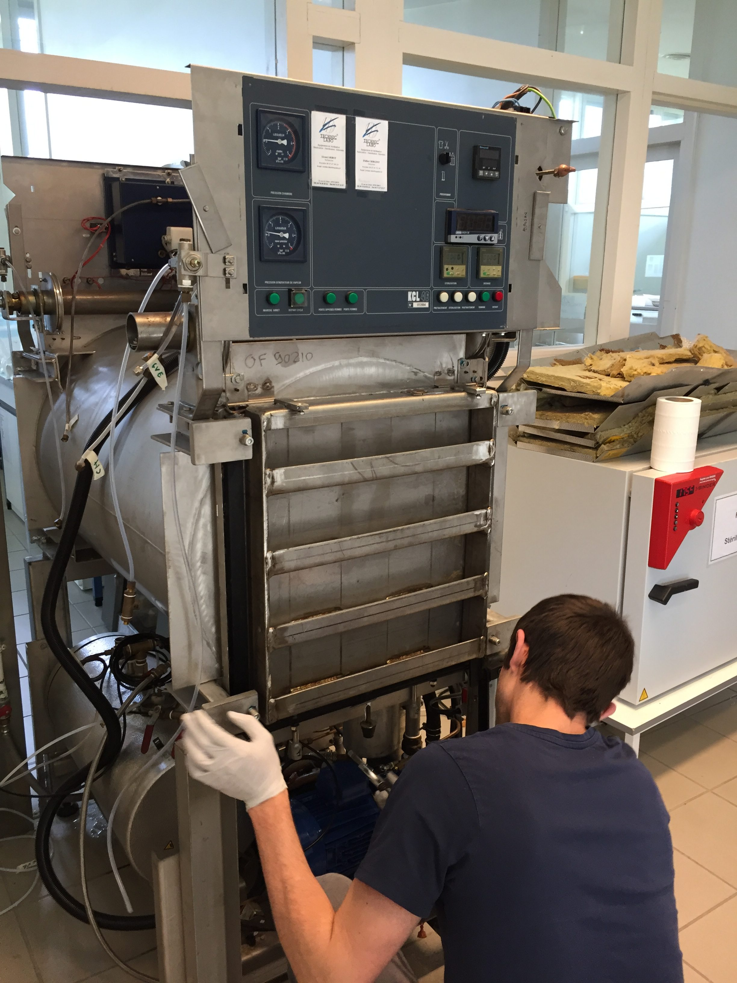 Maintenance Autoclave Horizontal