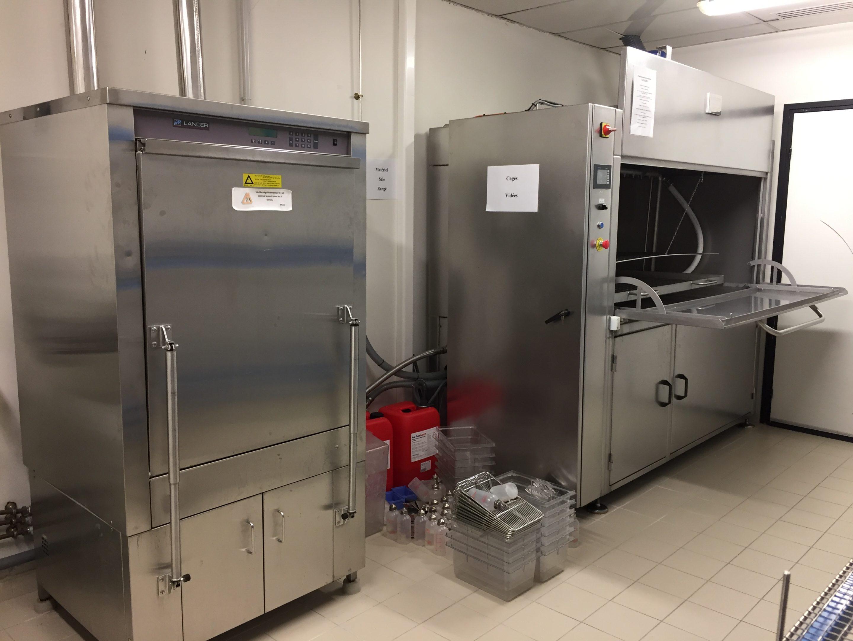 Service Laverie Laboratoire